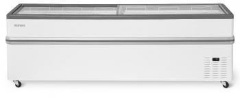 Ларь-бонета Bonvini 2100 L серый