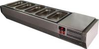 Витрина холодильная POLAIR VT2-G (3x GN 1/3 + GN 1/2) с крышкой