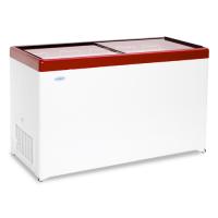 Ларь морозильный Снеж МЛП-500 красный