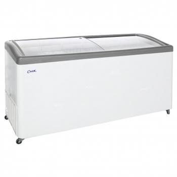 Ларь морозильный  МЛГ-600 серый