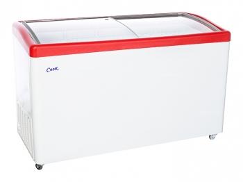 Ларь морозильный  МЛГ-500 красный