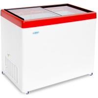 Ларь морозильный Снеж МЛП-350 красный