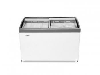 Ларь морозильный  МЛП-400 серый