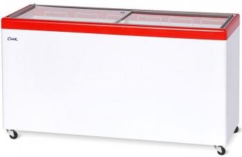 Ларь морозильный  МЛП-600 красный