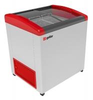 Мини изображение Ларь морозильный  FG 250 E (FG 200 E) красный