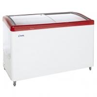 Ларь морозильный МЛГ-400 красный