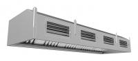 Мини изображение Зонт ЗППВ-100/120  приточно-вытяжной пристенный