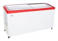 Ларь морозильный  МЛГ-600 красный