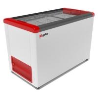 Мини изображение Ларь морозильный  FG 400 С красный