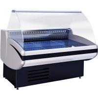 Мини изображение Витрина холодильная Gamma-2 1200 КРАСНЫЙ RAL 3004