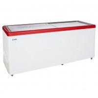 Ларь морозильный  МЛП-700 красный