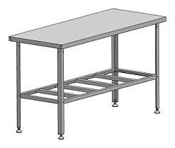 Стол производственный СРП-0-0,6/1,2
