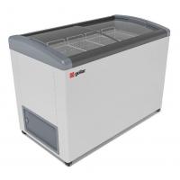Мини изображение Ларь морозильный  FG 400 E серый