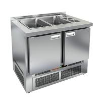 Стол для салатов HICOLD SLE3-11GN без крышки