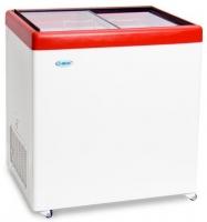 Ларь морозильный  МЛП-250 красный