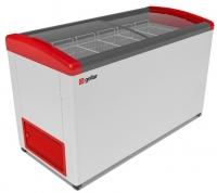 Мини изображение Ларь морозильный  FG 500 E красный