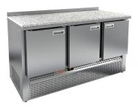 Мини изображение Стол холодильный GNE 111/TN камень